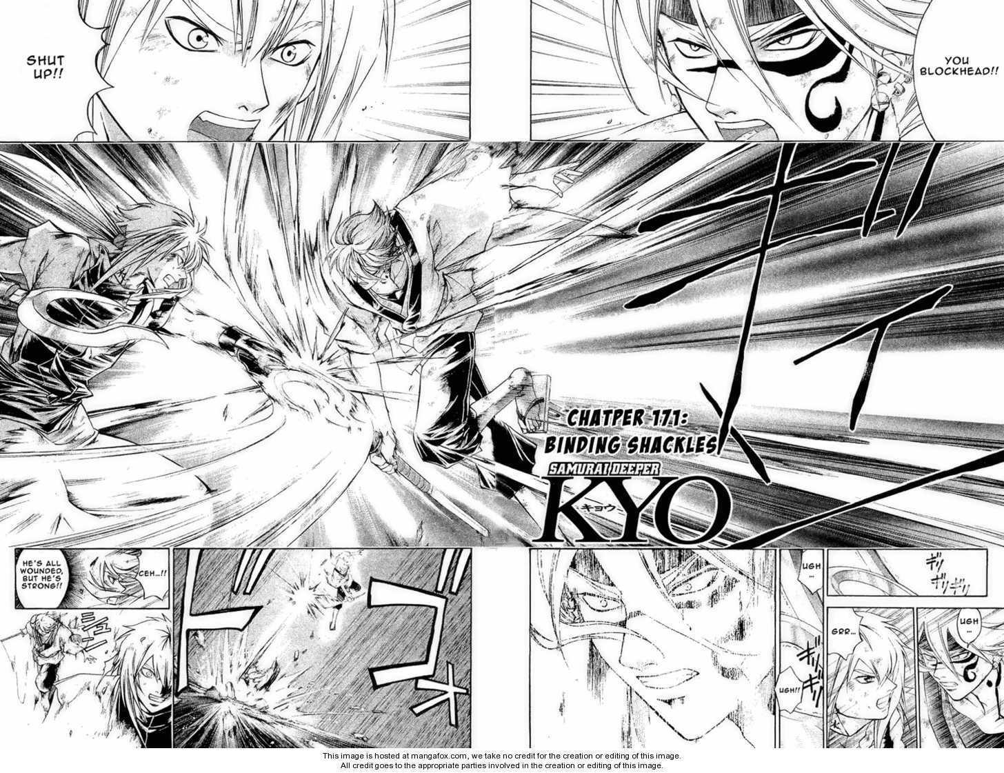 Samurai Deeper Kyo 170 Page 3