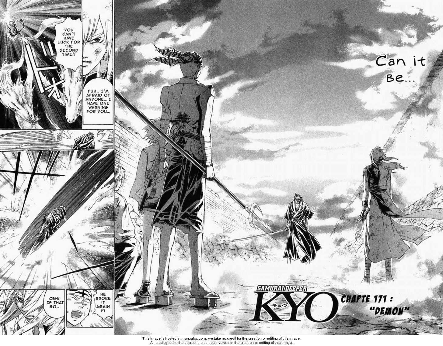 Samurai Deeper Kyo 172 Page 3