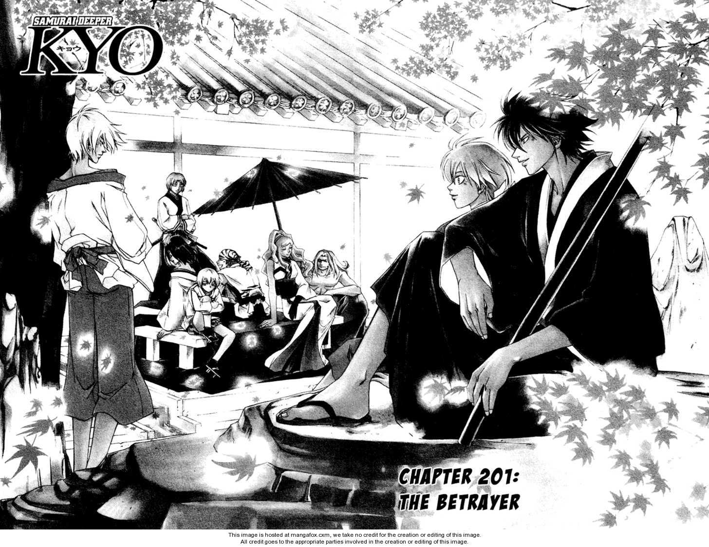 Samurai Deeper Kyo 201 Page 3