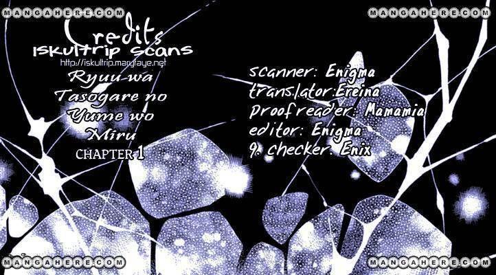 Ryuu Wa Tasogare No Yume O Miru 1 Page 1