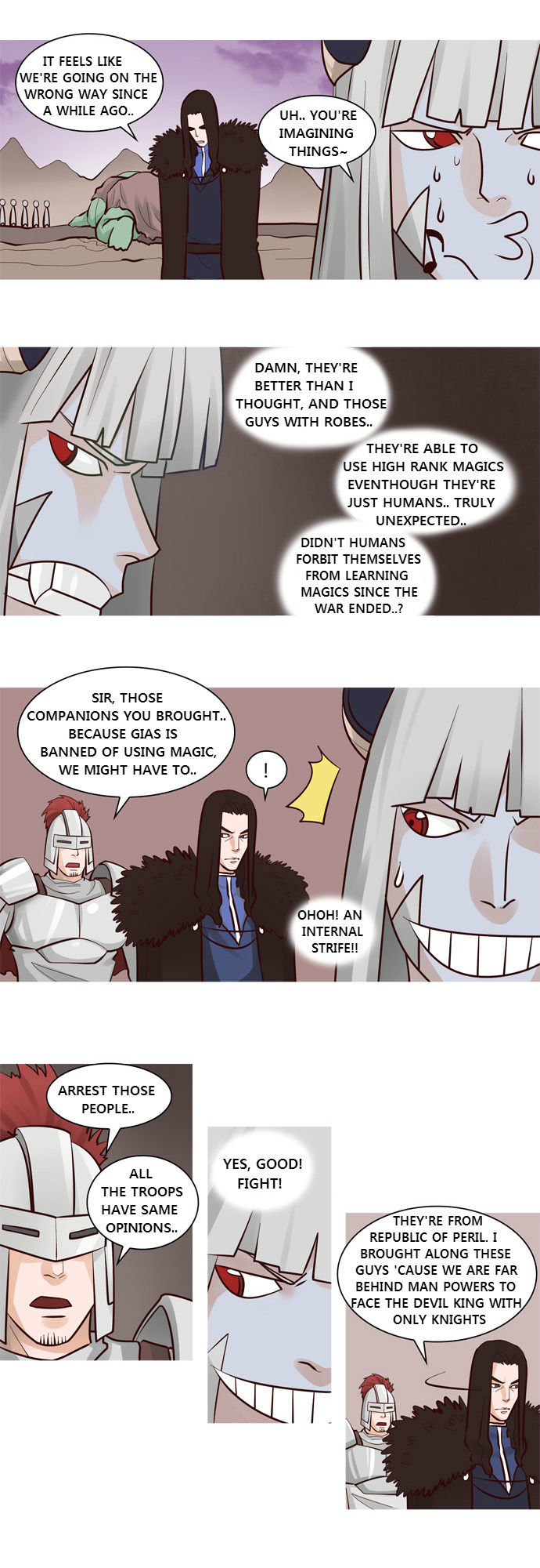 The Devil King Is Bored 28 Page 3