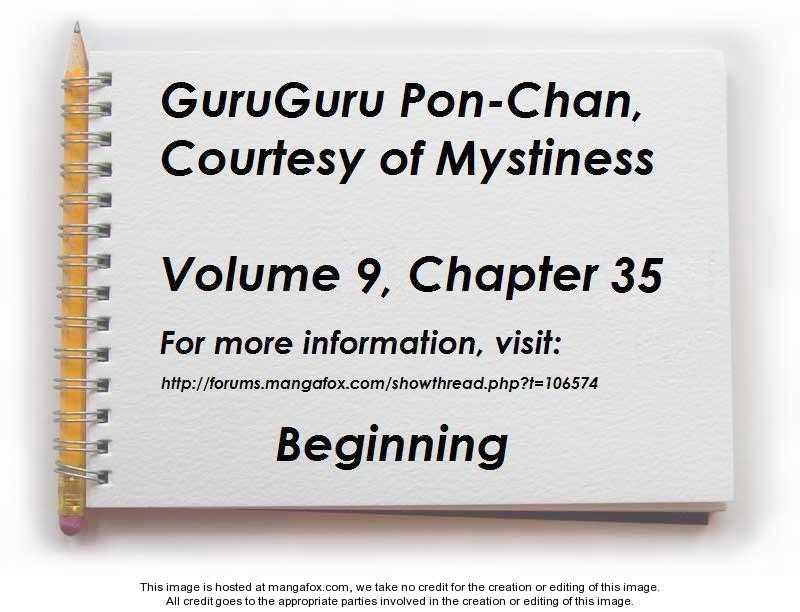 Guru Guru Pon-chan 35 Page 1