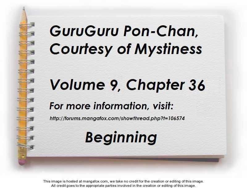 Guru Guru Pon-chan 36 Page 1
