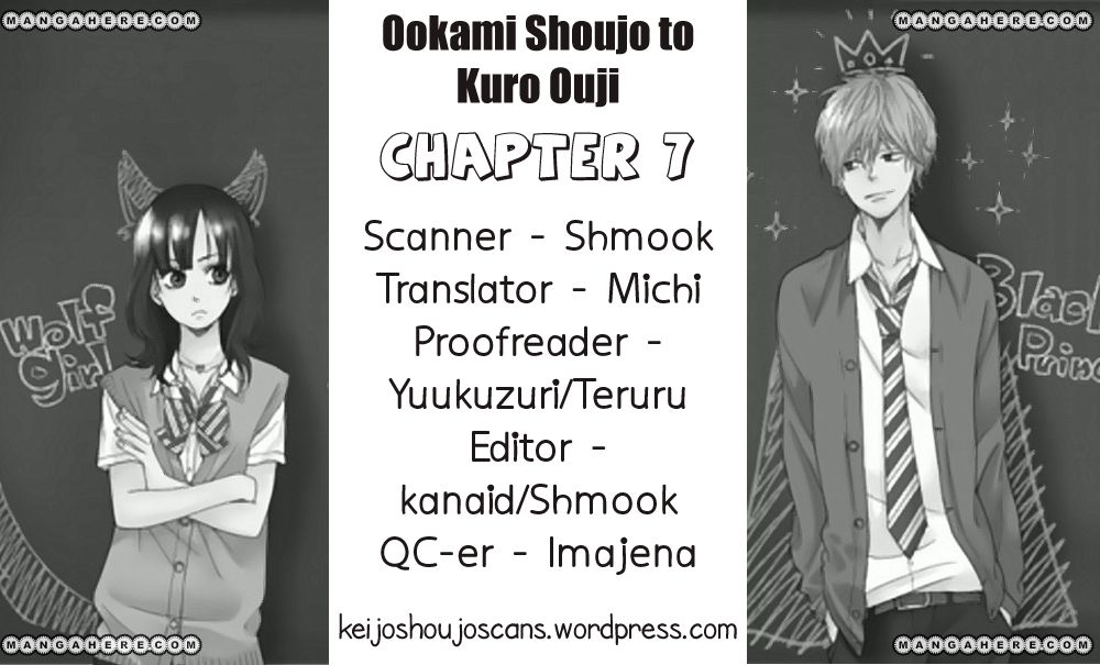 Ookami Shoujo To Kuro Ouji 7 Page 1