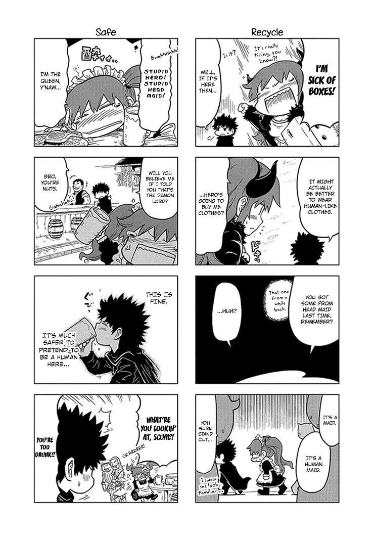 Maoyuu 4-Koma: You're Horrible, Maou-sama! 7 Page 3