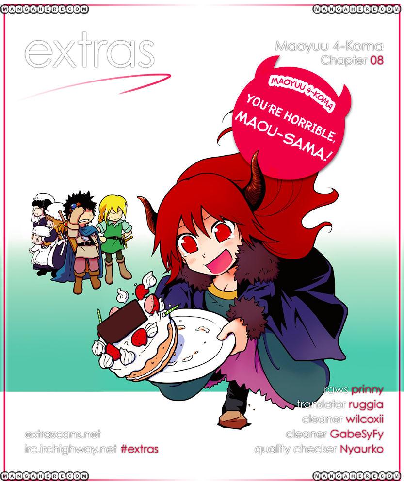 Maoyuu 4-Koma: You're Horrible, Maou-sama! 8 Page 1