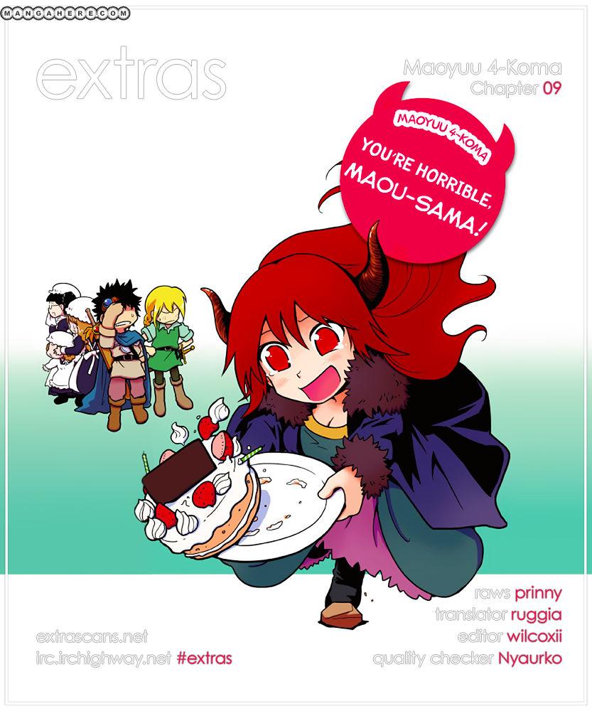 Maoyuu 4-Koma: You're Horrible, Maou-sama! 9 Page 1