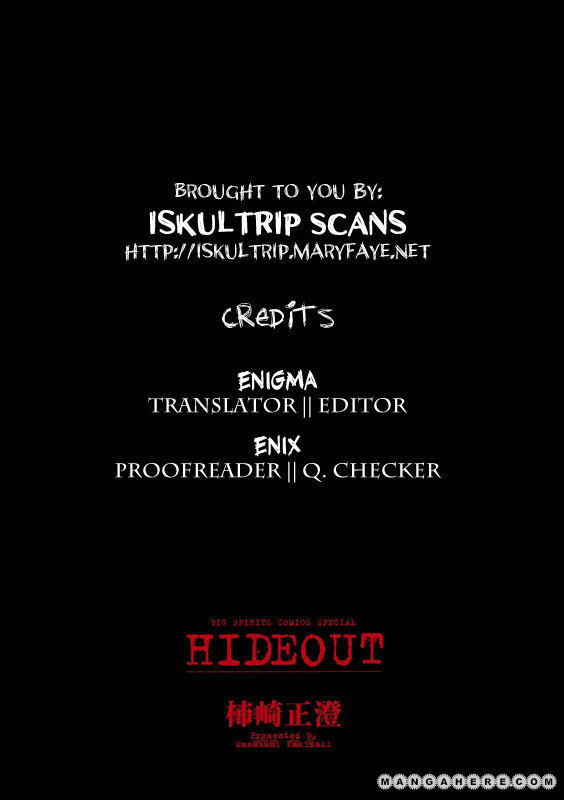Hideout 3 Page 1