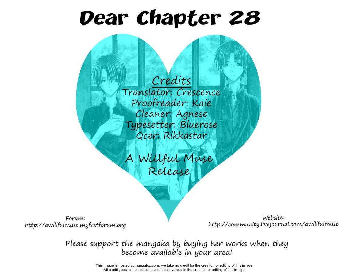 Dear 28 Page 1