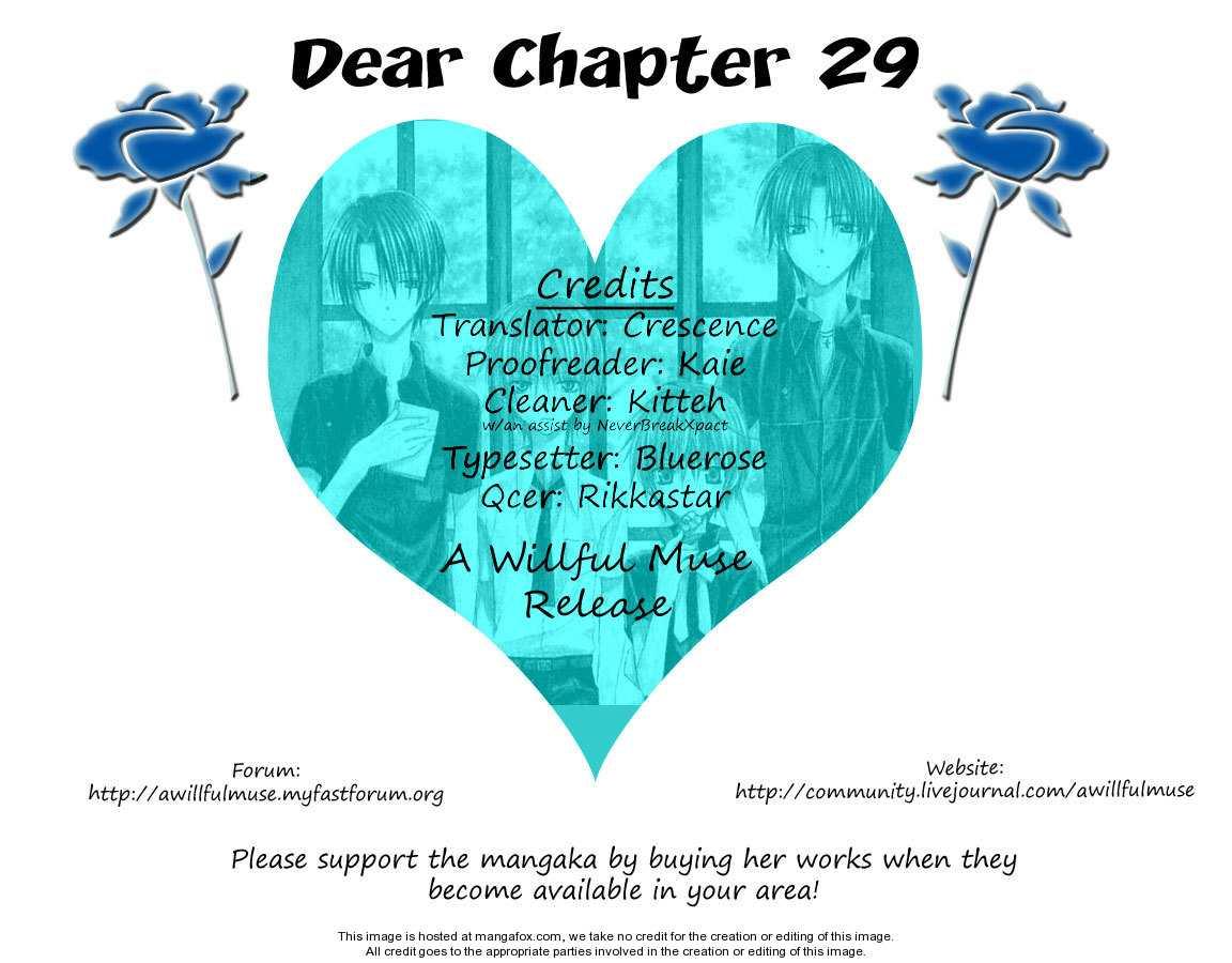 Dear 29 Page 1