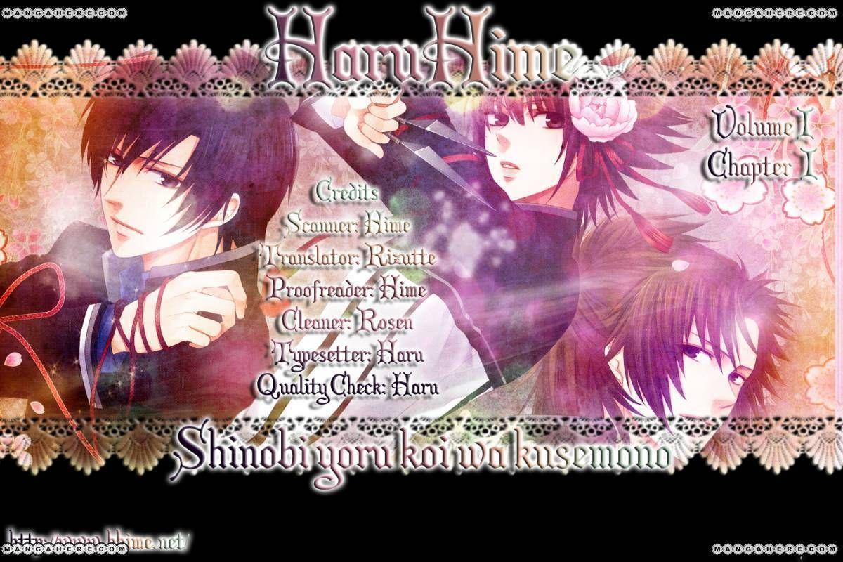 Shinobi Yoru Koi Wa Kusemono 1 Page 2