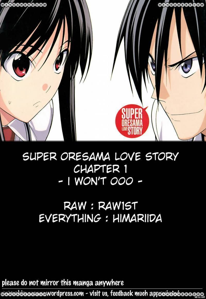 Super Oresama Love Story 1 Page 1