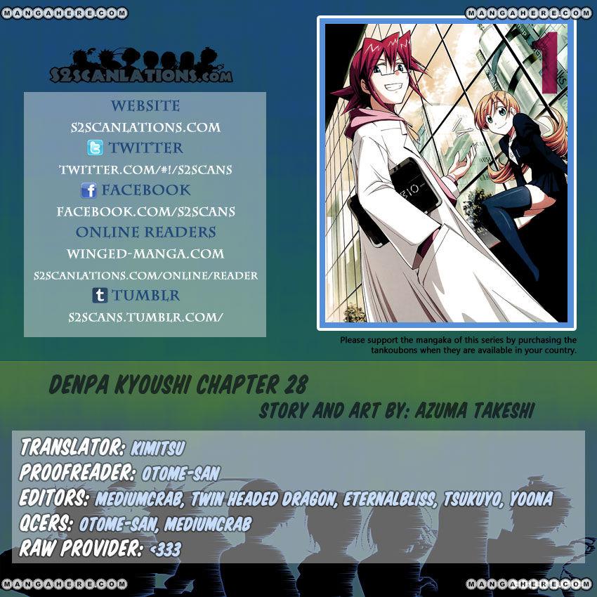 Denpa Kyoushi 28 Page 1