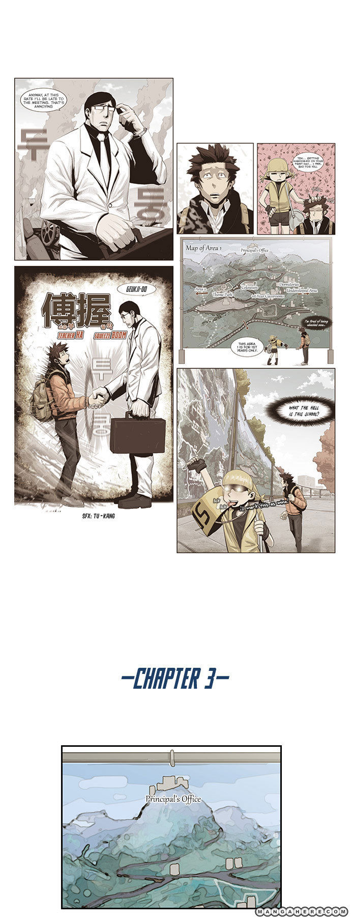 Special Martial Arts Extreme Hell Private High School 3 Page 1
