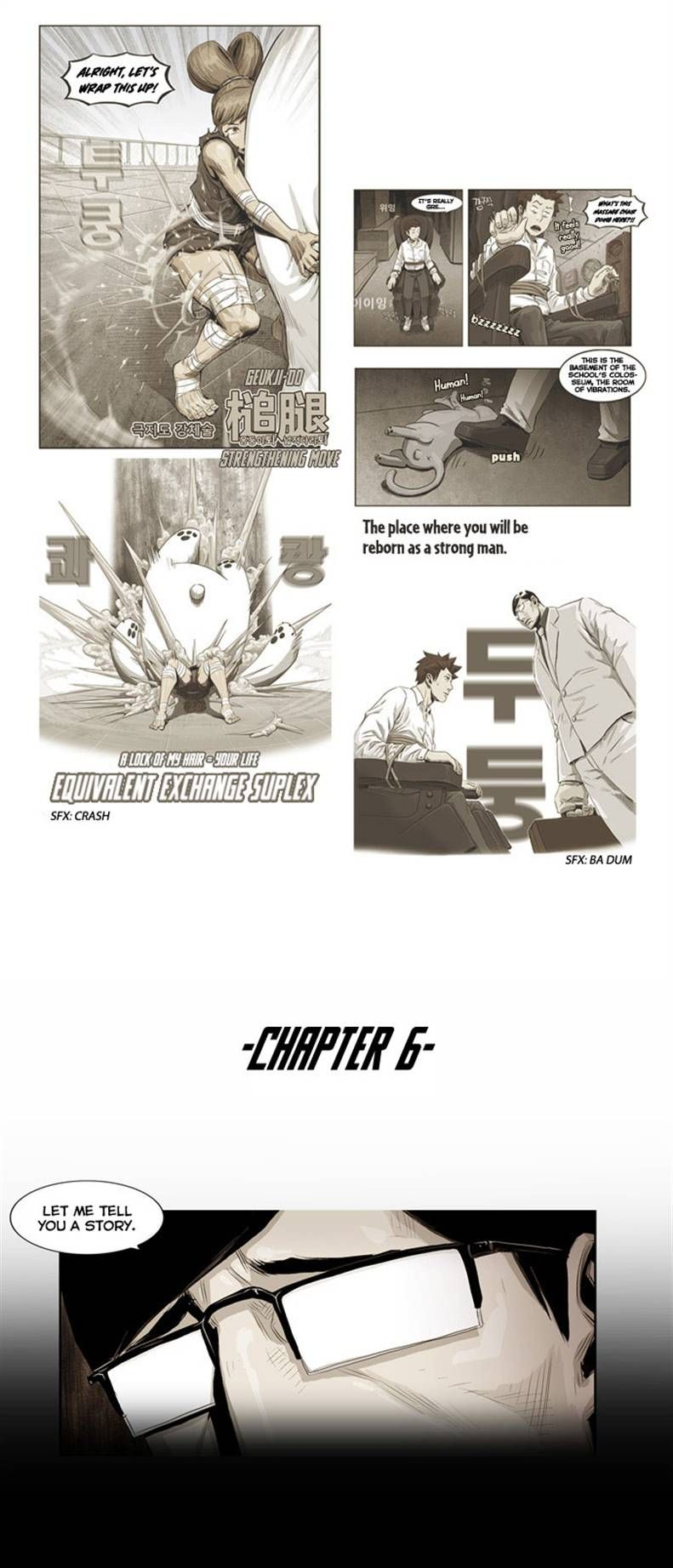 Special Martial Arts Extreme Hell Private High School 6 Page 1