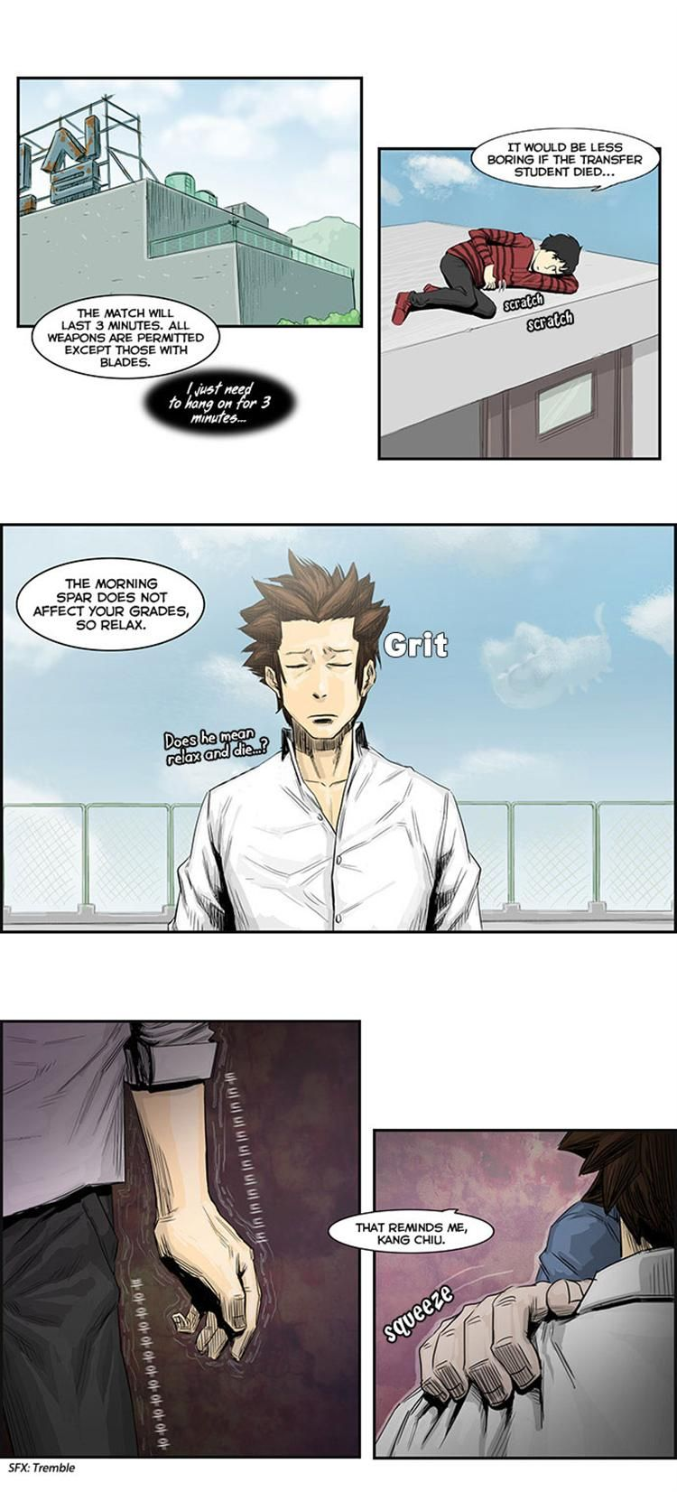 Special Martial Arts Extreme Hell Private High School 8 Page 2
