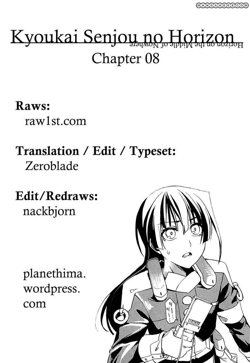 Kyoukai Senjou no Horizon 8 Page 1