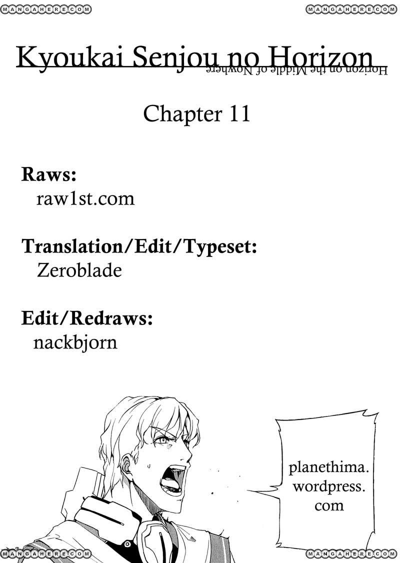 Kyoukai Senjou no Horizon 11 Page 1