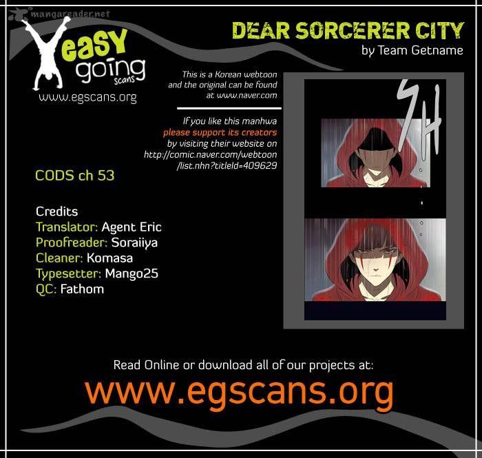City of Dead Sorcerer 53 Page 1