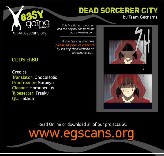 City of Dead Sorcerer 60 Page 1