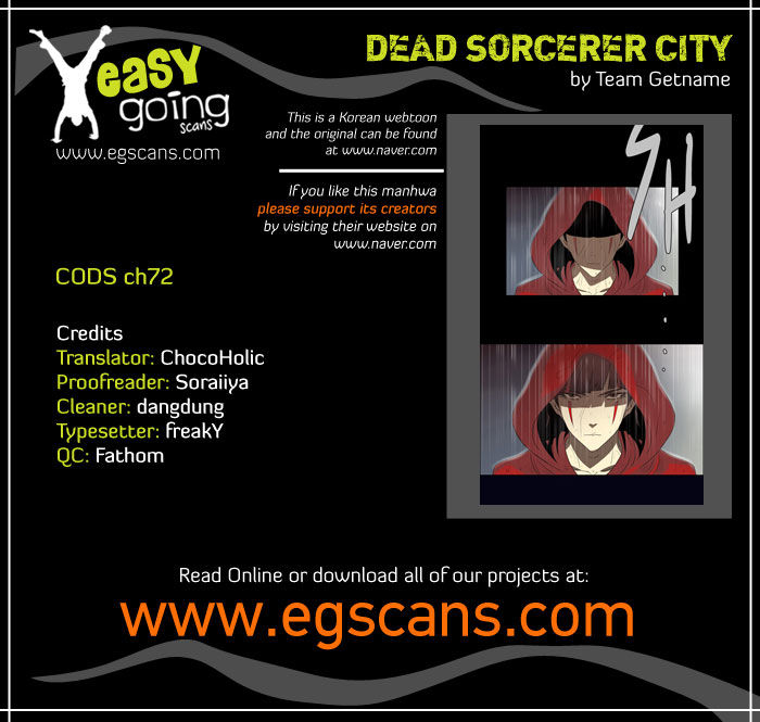 City of Dead Sorcerer 72 Page 1