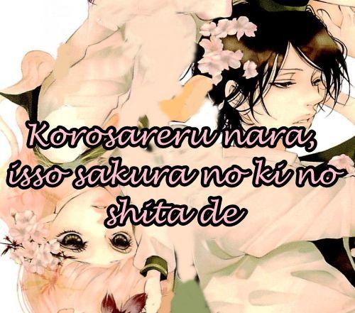 Korosareru nara, Isso Sakura no Ki no Shita de 2 Page 1