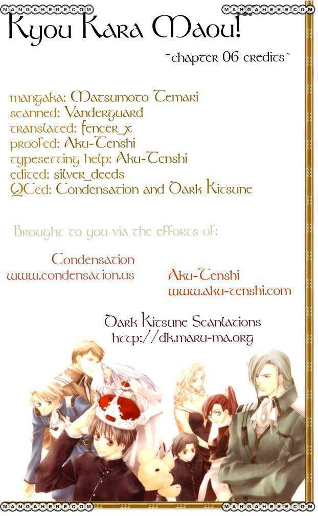 Kyou Kara Maou 6 Page 2