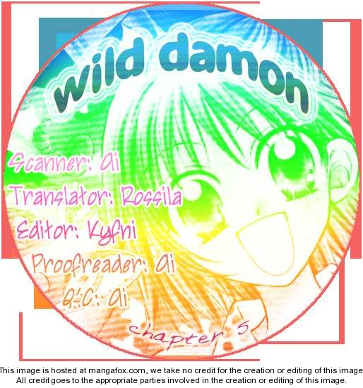 Wild Damon 5 Page 1