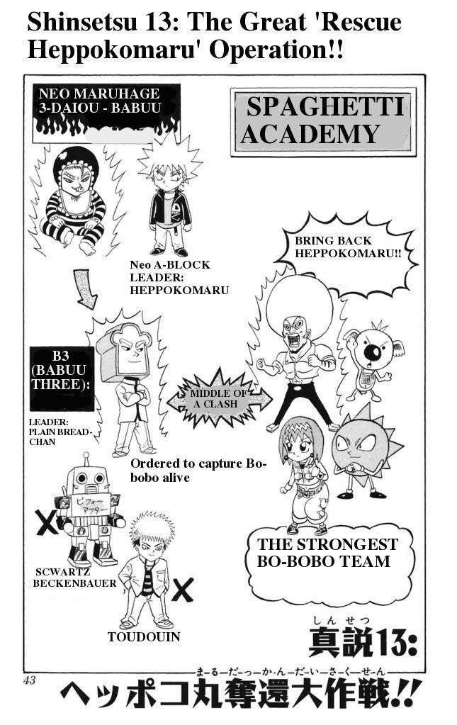 Shinsetsu Bobobo Bo Bo Bobo 13 Page 1
