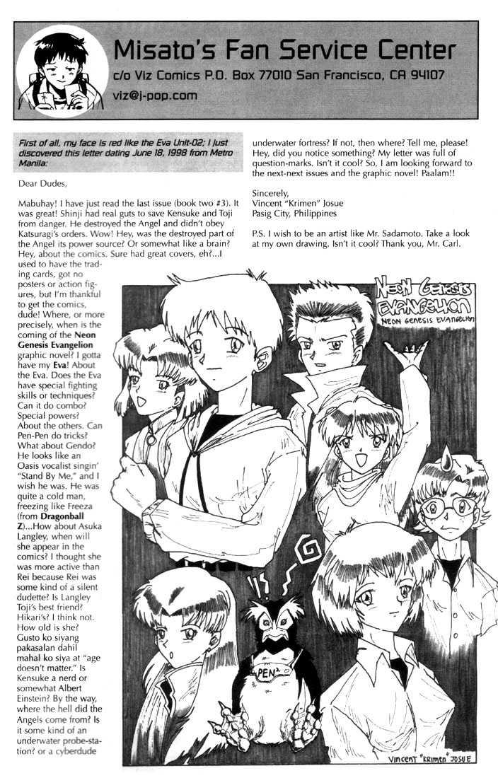Neon Genesis Evangelion 20 Page 2