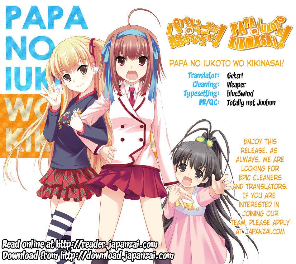 Papa no Iukoto o Kikinasai! - Miu-sama no Iu Toori 4 Page 1