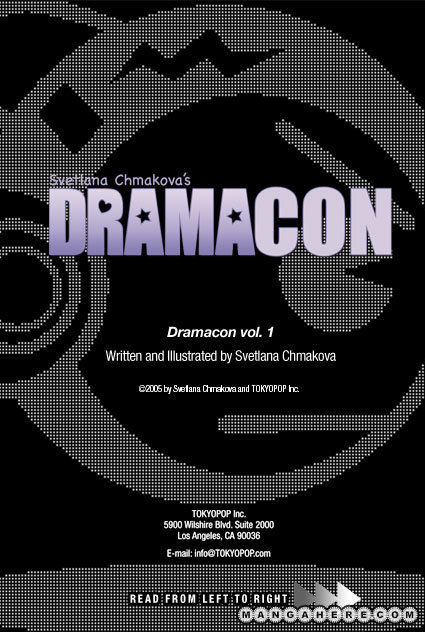 Dramacon 4 Page 1