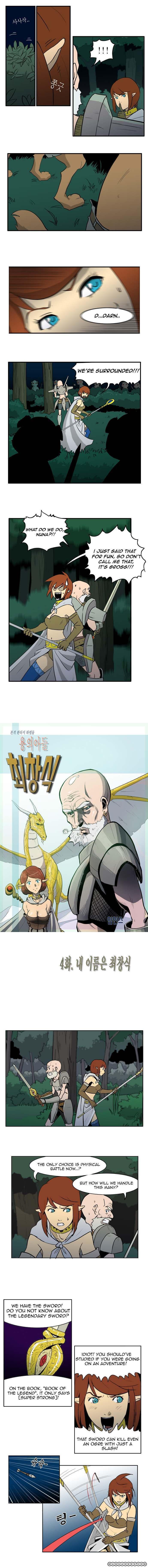 Dragon's Son Changsik 4 Page 3