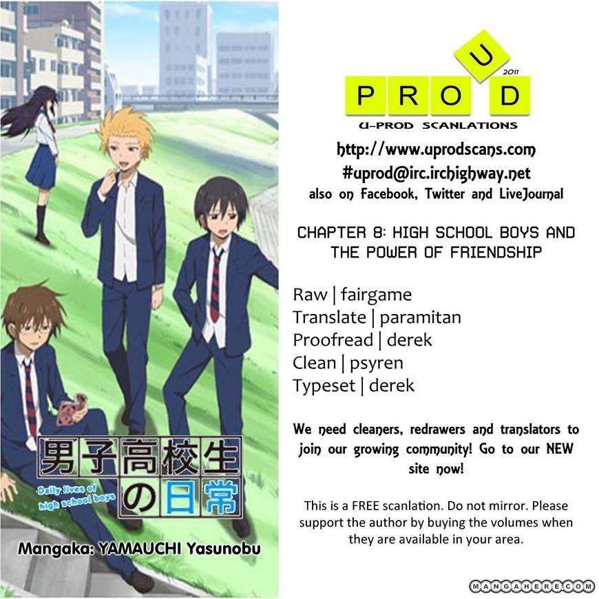 Danshi Koukousei no Nichijou 8 Page 1
