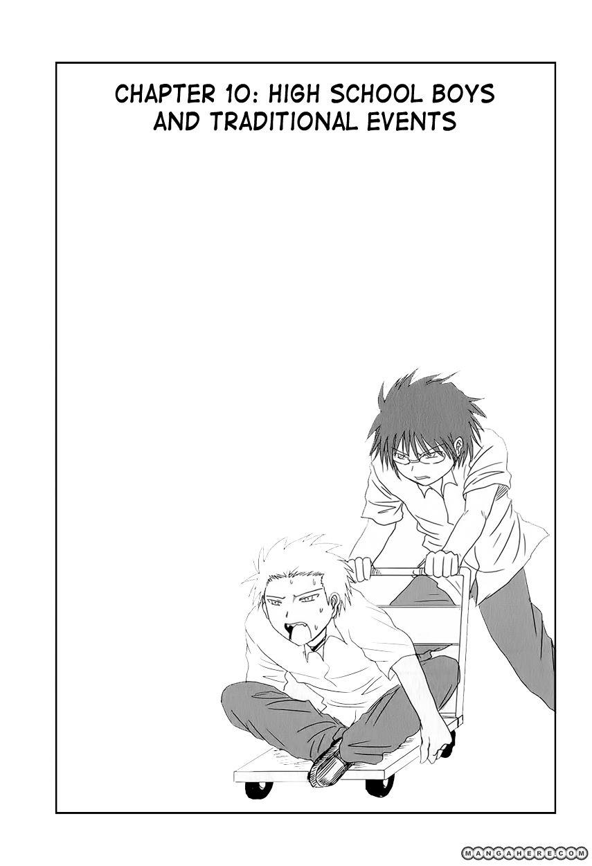 Danshi Koukousei no Nichijou 10 Page 2
