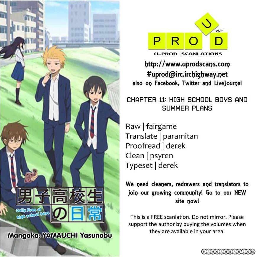 Danshi Koukousei no Nichijou 11 Page 1