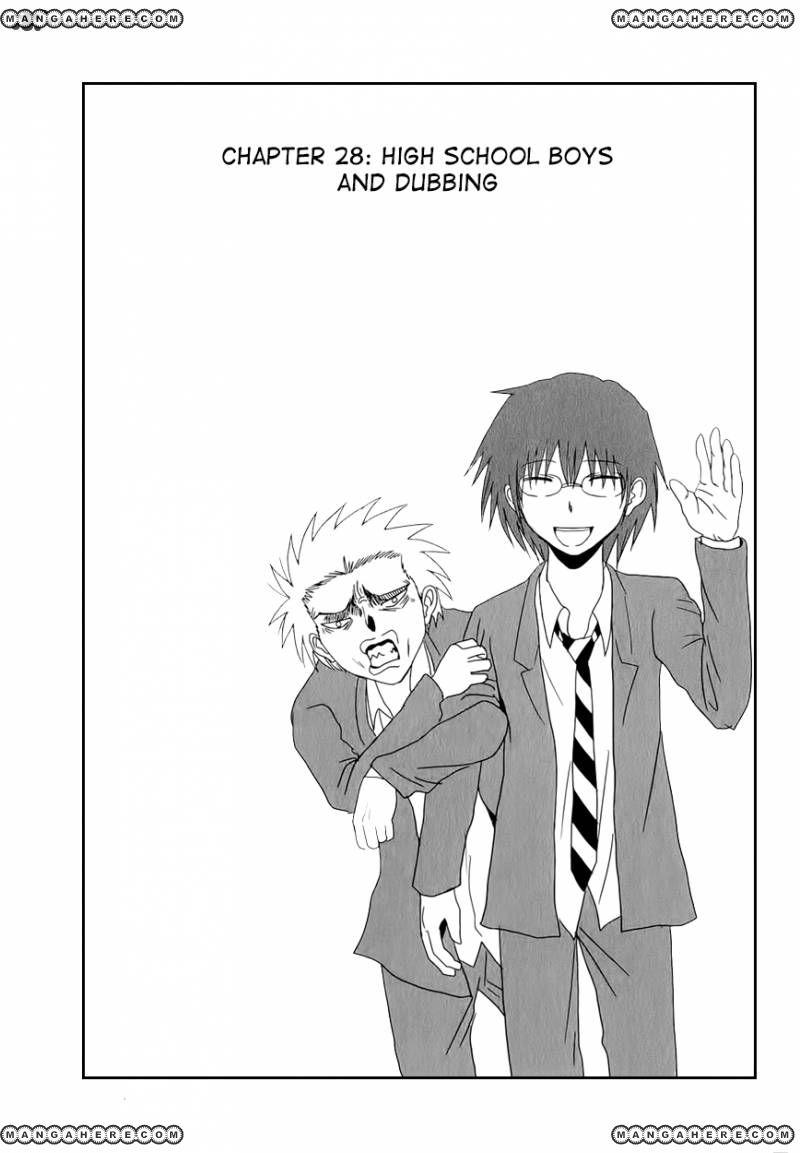 Danshi Koukousei no Nichijou 28 Page 3