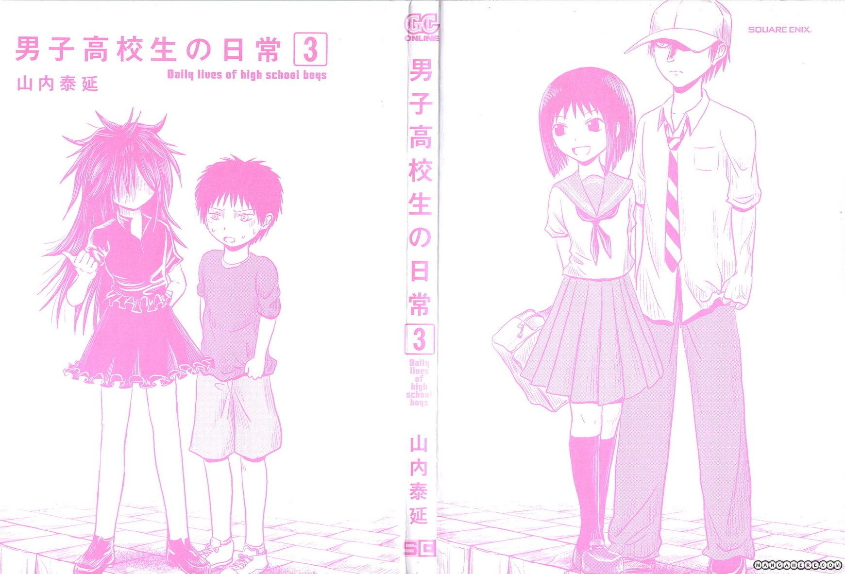 Danshi Koukousei no Nichijou 33 Page 2