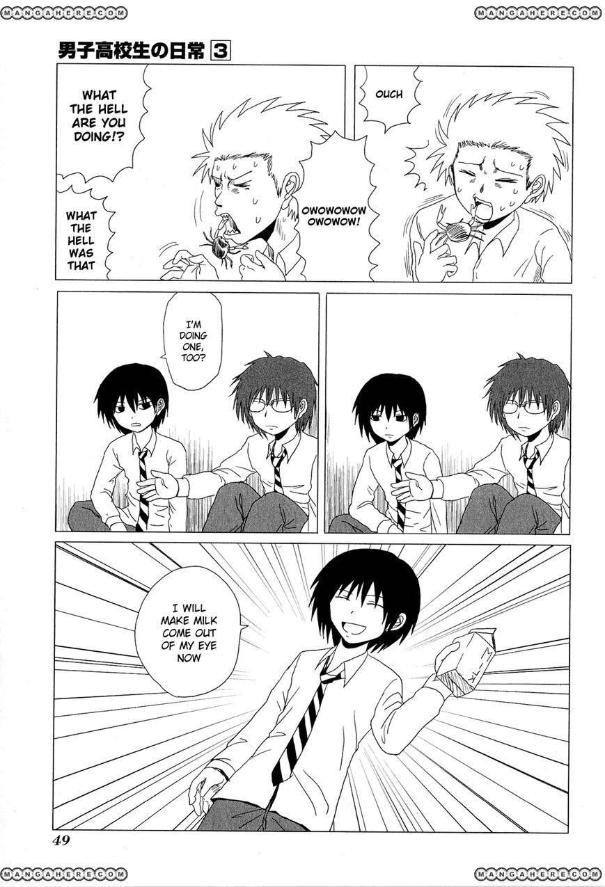 Danshi Koukousei no Nichijou 39 Page 3
