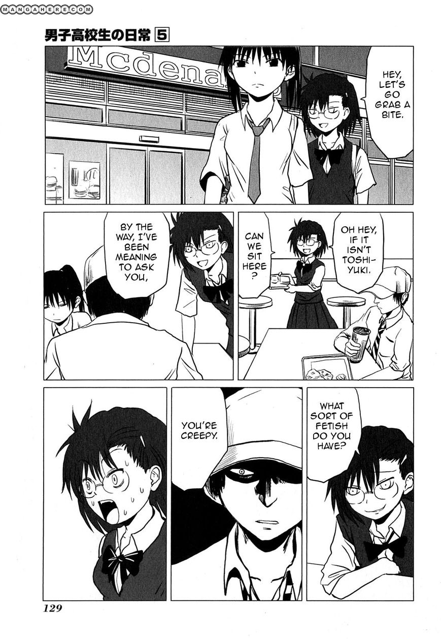Danshi Koukousei no Nichijou 81.3 Page 2