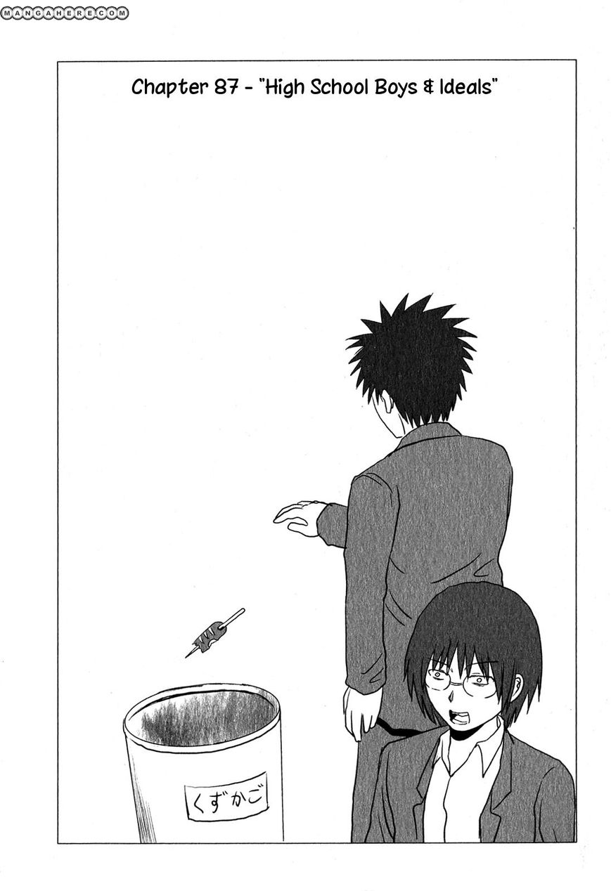 Danshi Koukousei no Nichijou 87 Page 2