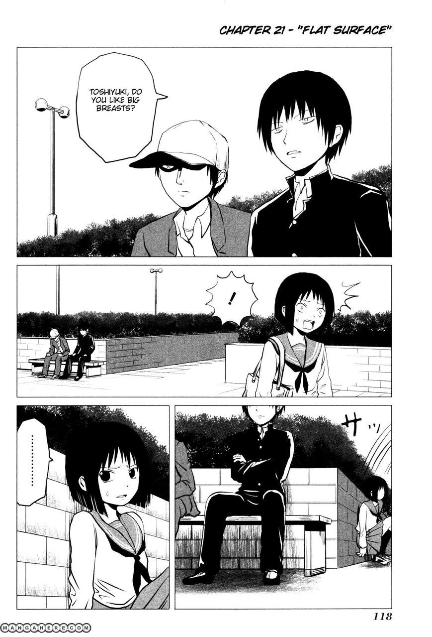 Danshi Koukousei no Nichijou 107.3 Page 1