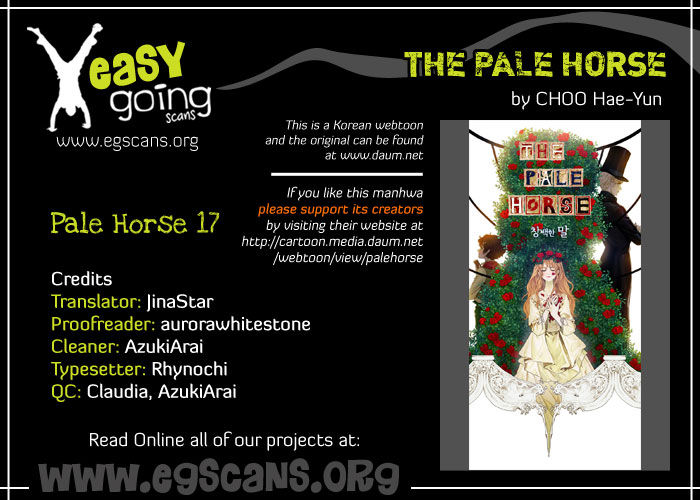 The Pale Horse 17 Page 1