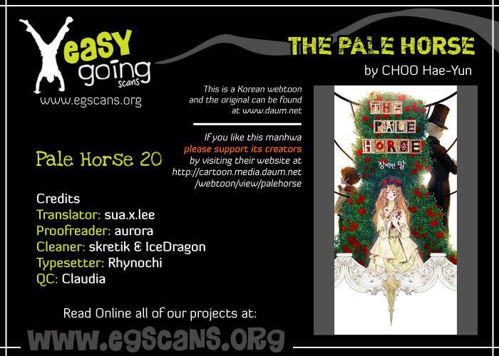 The Pale Horse 20 Page 1