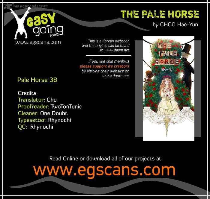 The Pale Horse 38 Page 1