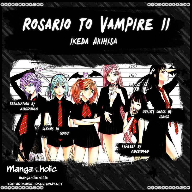 Rosario+Vampire Season II 54 Page 1