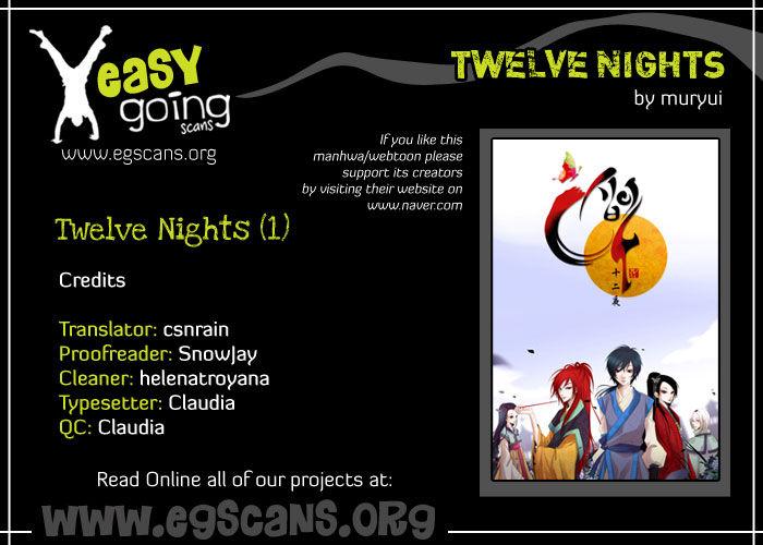 Twelve Nights 1 Page 1