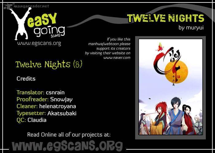 Twelve Nights 8 Page 1