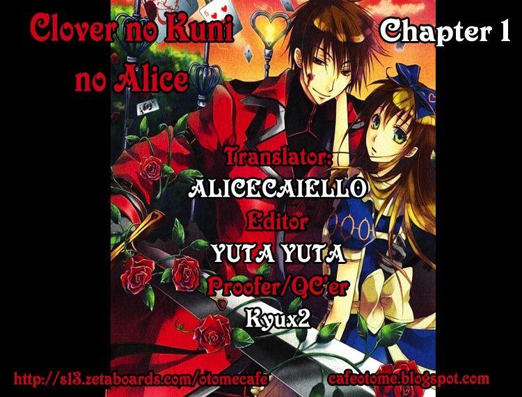 Clover no Kuni no Alice - Heart no Kishi 1 Page 1