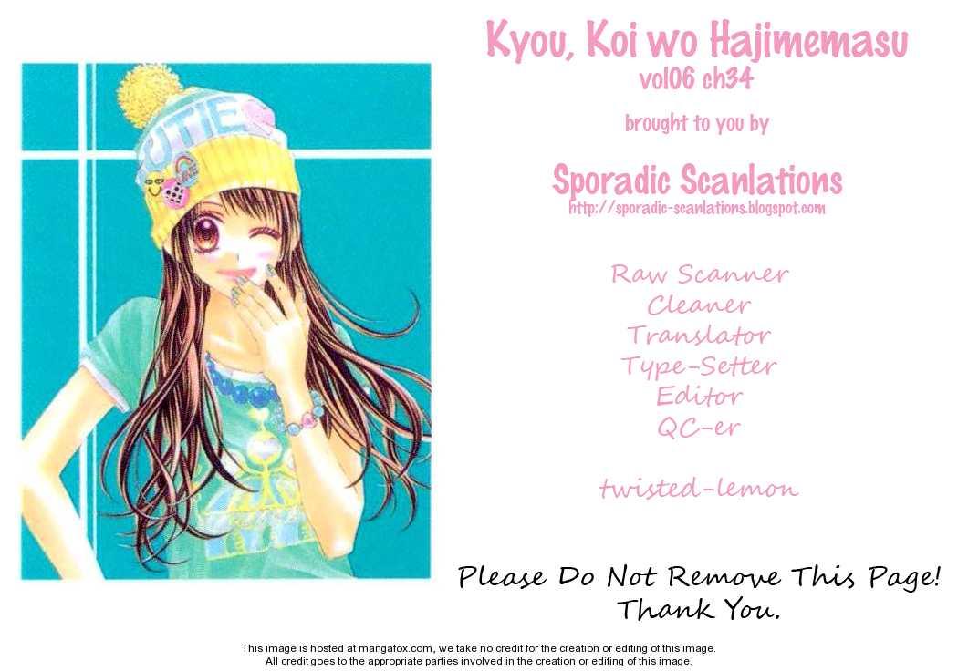 Kyou, Koi wo Hajimemasu 34 Page 3